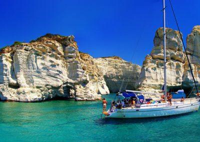 Athens – Milos – Folegandros- Ios – Santorini