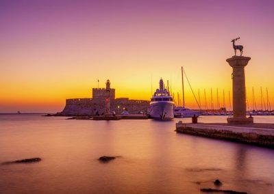 Athens – Santorini – Crete – Rhodes